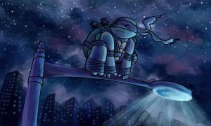 TMNT: Midnight City by Mosrael-the-Waker