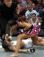 Rosi Sexton Knocked Out Cold by Zoila Frausto by CammyCRNA