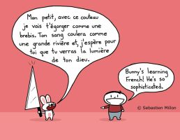 Rabbit Learns French by sebreg