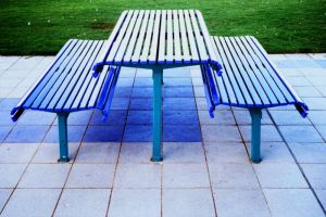 seats and table by addon