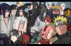 Naruto Party by Madnesssss