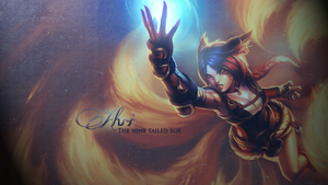 League of Legends - Ahri by Miinow-Chan