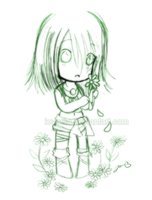 Doodle: He loves me..not? by Leversa