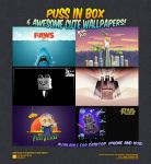 Puss In Box Wallpapers by petshop-studio