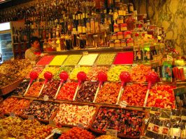 Spain's Market Sweets by mariposa116