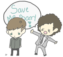 SAVE ME BARRY by StrawHatAna