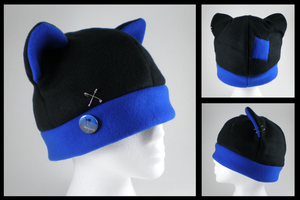 S'punked Out fleece cat hat by eitanya