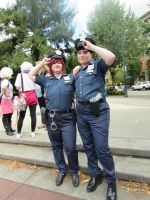 KCon 2014 Cop!Rin and Cop!Sousuke 3 by GayMenDancing