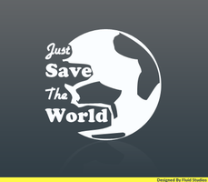 Just Save The World Logo by FluidStudios