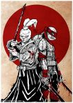 Usagi Yojimbo and Leonardo by Robgrafix
