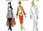 DC2 Earth 2 - JLA family by herrenmedia