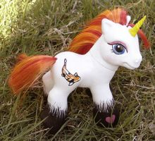 Custom MLP- Baby Koi by songbird21