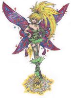 Tinkerbell Colour by newvani