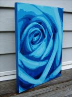 Blue Rose by MichelleChristina