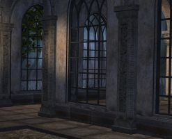 Back place old ruins01 by Ecathe