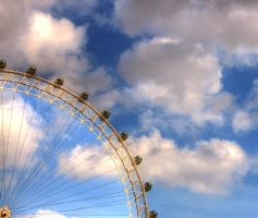 The London Eye by Thaash