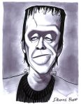 convention sketch 35 Herman Munster by DennisBudd