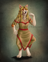Commission - Eisa Painting by OllyChimera