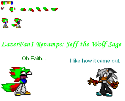 Jeff the Wolf Sage Revamp by GhosttheHedgehog12