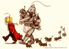 FMA - 13 cats by Veleven