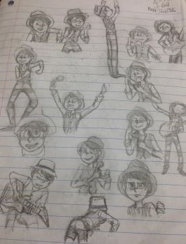 Random Once-ler Sketches by AkiJ64