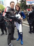 Mass Effect 3 Eva Core and Commander Shepard by ThisIsJensWorld