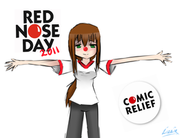 Happy Red Nose Day by watermelon-clock