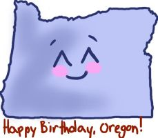 Happy Birthday, Oregon! by Egoamores