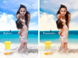 Younster ACTION PHOTOSHOP by MarioZitelloGraphics