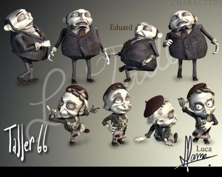 Taller 66 Characters by Digit82