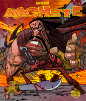 Machete in yer face! by RussCook
