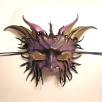 Horned Creature Mask by teonova