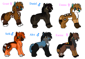New Breeders!!!! (CLODED) by MUDDii