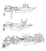 keyblades by silentpassion