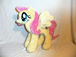 Fluttershy Plushie by SweetwaterPony