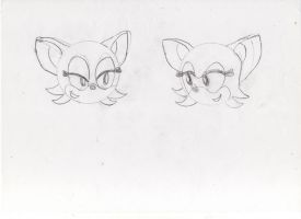 Rouge and Sonic: The Sisters by ClassicSonicSatAm