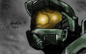 Halo - Master Chief by Tipsutora