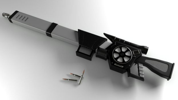 Magnetic Accelerator Rifle by Zacko86