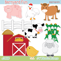 Barnyard Fun by jdDoodles