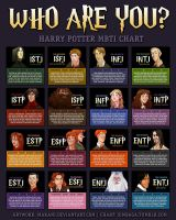 Harry Potter MBTI by MBTI-Characters