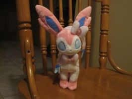Sylveon Plushie by Princess-Selia