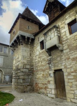 Medieval guards house - Cahors 31 by HermitCrabStock