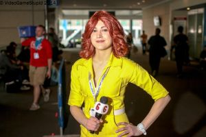 PAX East 2014 - April O'neil(EDIT) by VideoGameStupid