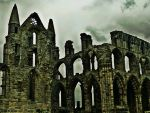 Another Side Of Whitby Abbey by Estruda