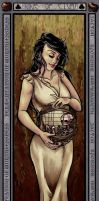 Nine of Clubs: Mother Russia by kaitquefait