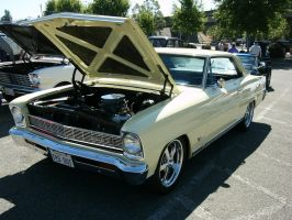 Power Lurks Under The Hood-1966 Chevy II Nova SS by RoadTripDog