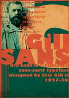 Gill SANS by spicone