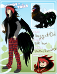 HT|Nuggat|chicken/Rooster by CelkaToad