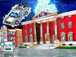 Courthouse Back to the Future by BrawlerNiels