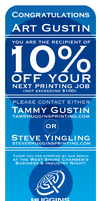 Huggins 10 percent Coupon by dragonorion